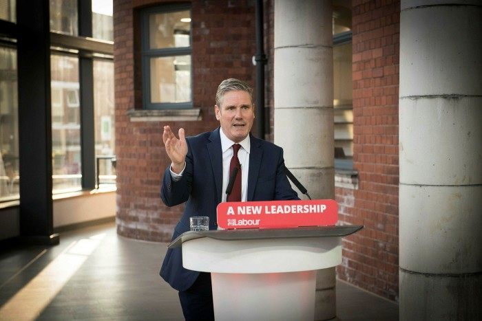 Keir Starmer, leader of the opposition Labour party, launched a stinging attack on the Johnson government saying it was incompetent and holding the country back 