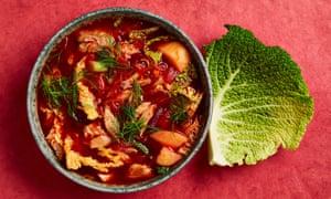 Papushka's borscht by Olia Hercules.