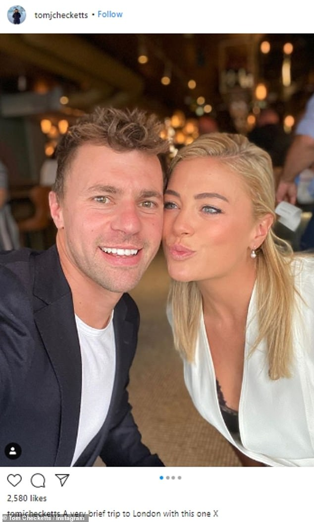 Keeping up appearances? While White made it pretty clear she was flying solo, Tom muddied the waters by sharing some shots from a romantic vacation just one week ago