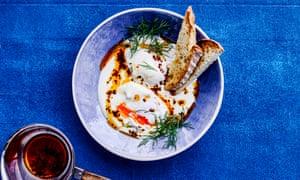Peter Gordon's Turkish eggs.
