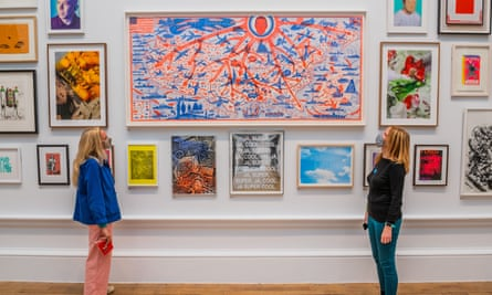 Fussy satire … The American dream by Grayson Perry.