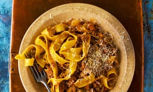 Marcella Hazan's bolognese meat sauce.