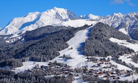 Val d'Arly ski resort, France