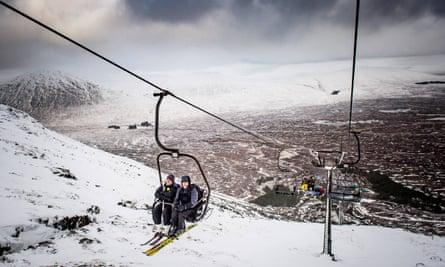 Glencoe Mountain Resort, Scotland. Image taken January 2018.