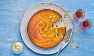 Claudia Roden's orange and almond cake.