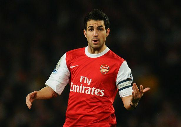 Cesc Fabregas made over 300 appearances for Arsenal