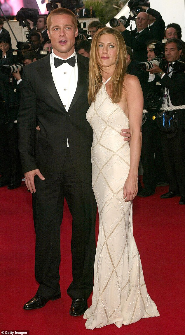 In the past: Pitt was married to Aniston, 51, from 2000-2005; seen in 2004