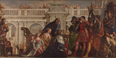 Paolo Veronese, The Family of Darius before Alexander 1565-7 (c) The National Gallery, London