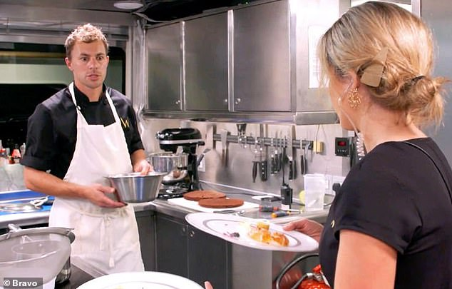 Cooking up drama: Checketts came aboard the reality series to replace chef Hindrigo 'Kiko' Lorran on season five of the show