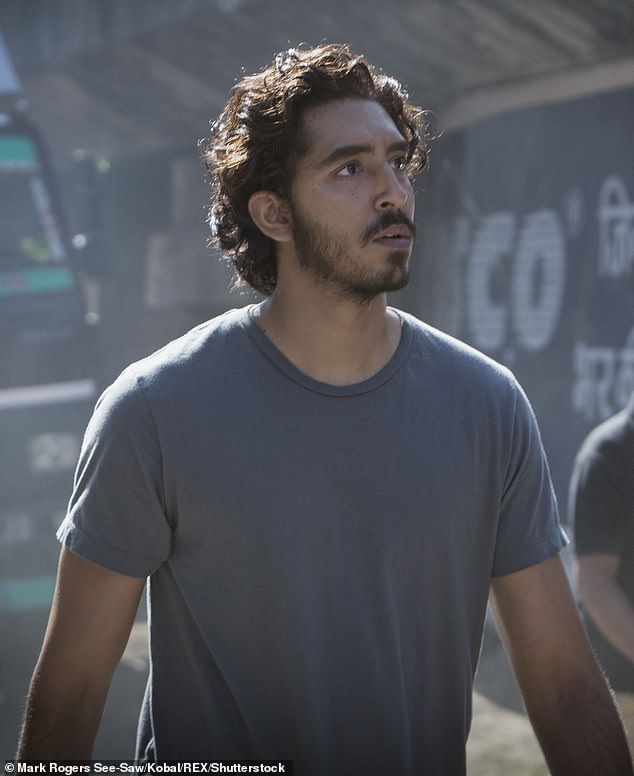 Agree to disagree? However, when it came to judging English actor Dev Patel's (pictured) Australian accent in Lion, Jackie and Kyle just couldn't agree