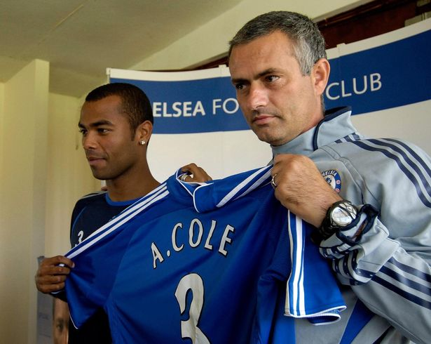 Ashley Cole joined Chelsea from Arsenal in 2005