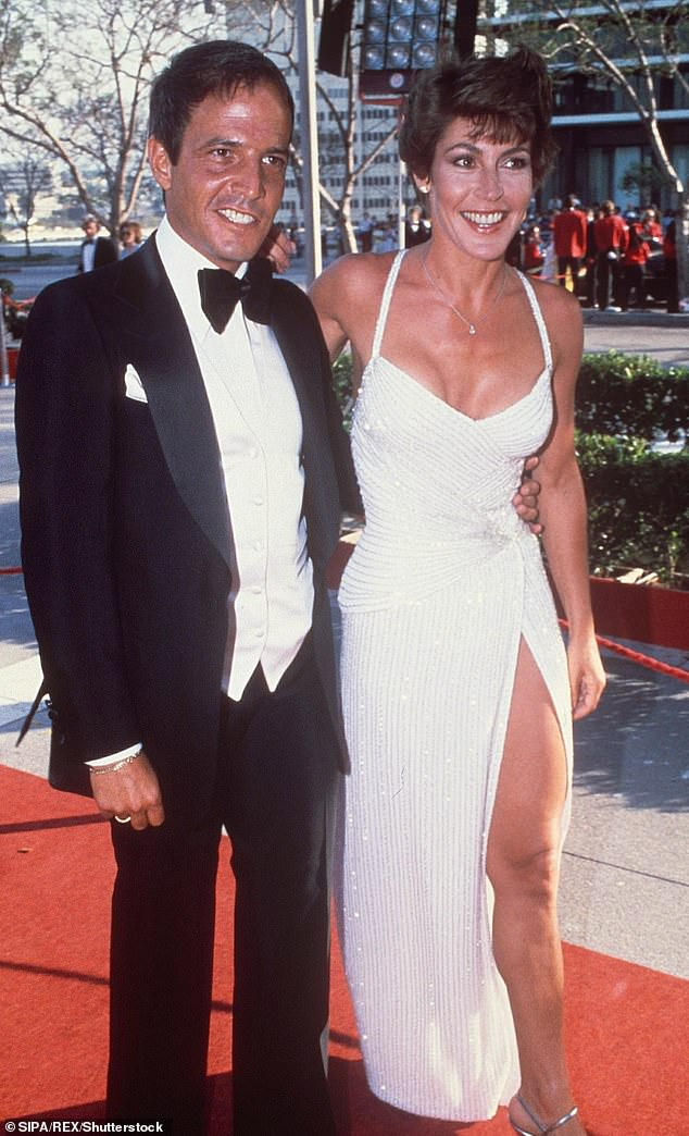 Loss of an icon: Helen's cause of death was not confirmed, however since her dementia diagnosis in 2015 Reddy had been living in a nursing home in LA for retired Hollywood talent. Pictured at the academy awards in 1980