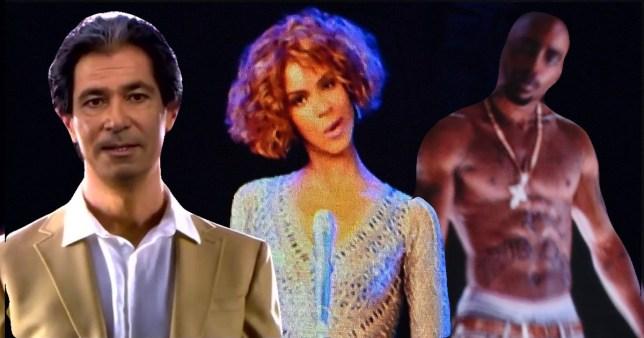 Robert Kardashian, Whitney Houston and Tupac holograms
