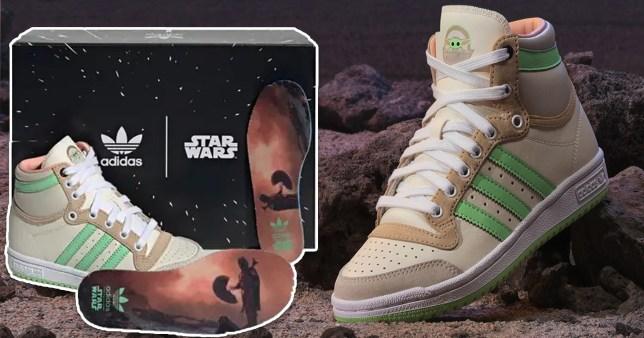 baby Yoda trainers