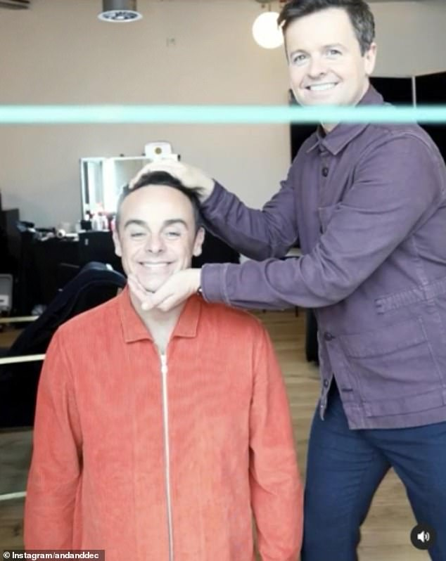 Clip: Ant McPartlin, 44, and Declan Donnelly, 45, were up to their old tricks again as they entertained their fans with a hilarious magic trick