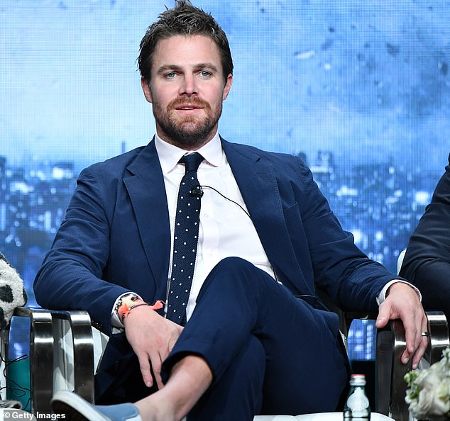 He got sick:Stephen Amell has revealed he tested positive for COVID-19 while filming the Starz show Heels. Seen in 2019