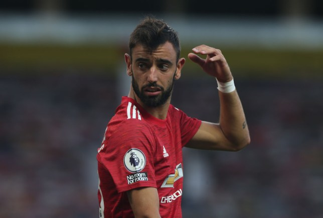 Bruno Fernandes was furious with his Manchester United teammates during their defeat to Tottenham