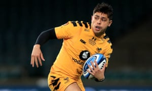 Wasps' Jacob Umaga is likely to win his first England cap in the coming weeks.