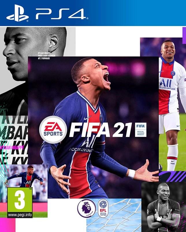FIFA 21 box