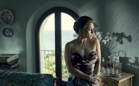 Bonham Carter as Princess Margaret in the new series of The Crown.