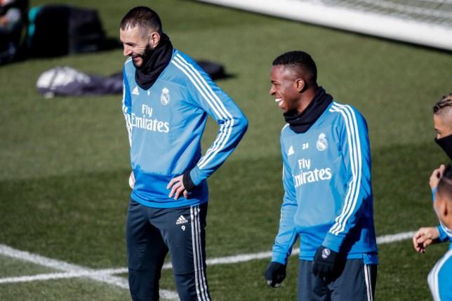 Training Real Madrid