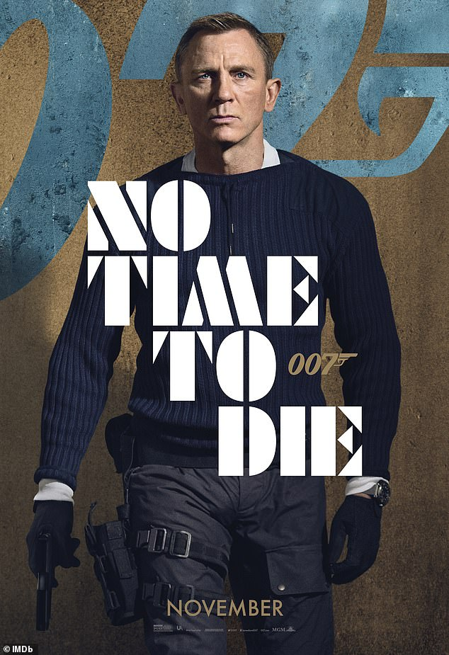 Holding out for theatrical release: MGM is moving to quash rumors it's thinking of offering Bond 25 No Time To Die to streaming services for a $600 million one-year licensing deal
