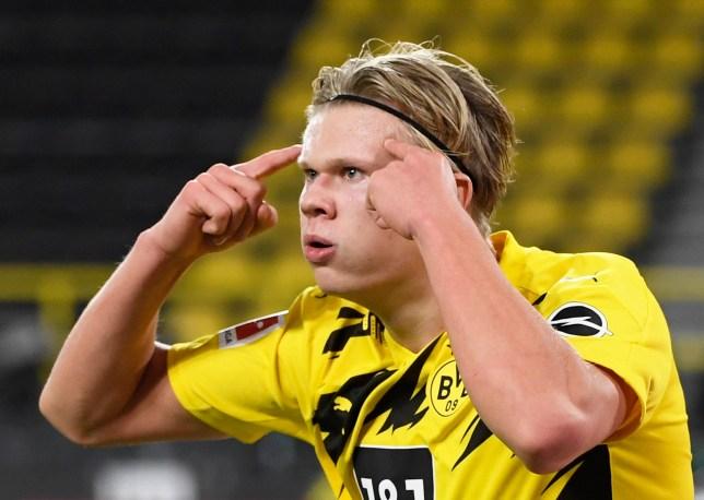 Erling Haaland is top of Ole Gunnar Solskjaer's wishlist at Manchester United