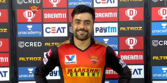 Rashid Khan starred in Sunrisers Hyderabad's victory over Delhi Capitals (Picture: IPL)