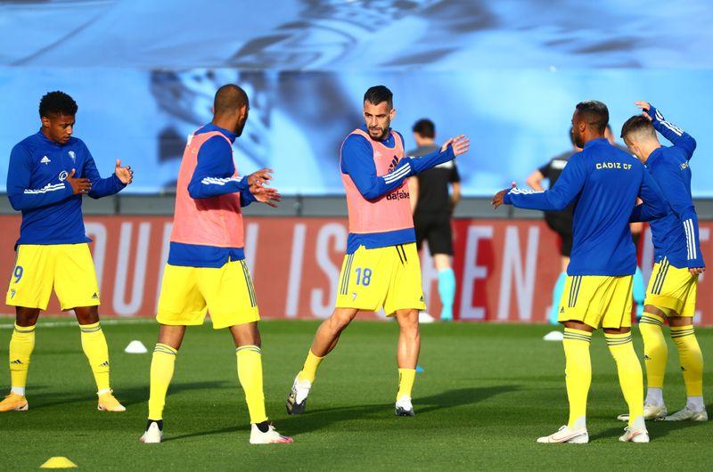 © Reuters. La Liga Santander - Real Madrid v Cadiz