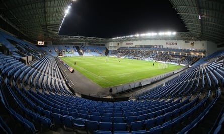 Fans cram into the Ricoh Arena for EFL Cup action