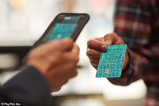 Issued by Synchrony Bank and powered by Visa, Venmo's no-fee credit card comes with anRFID-enabled chip, so customers can tap to pay for a contact-free transaction