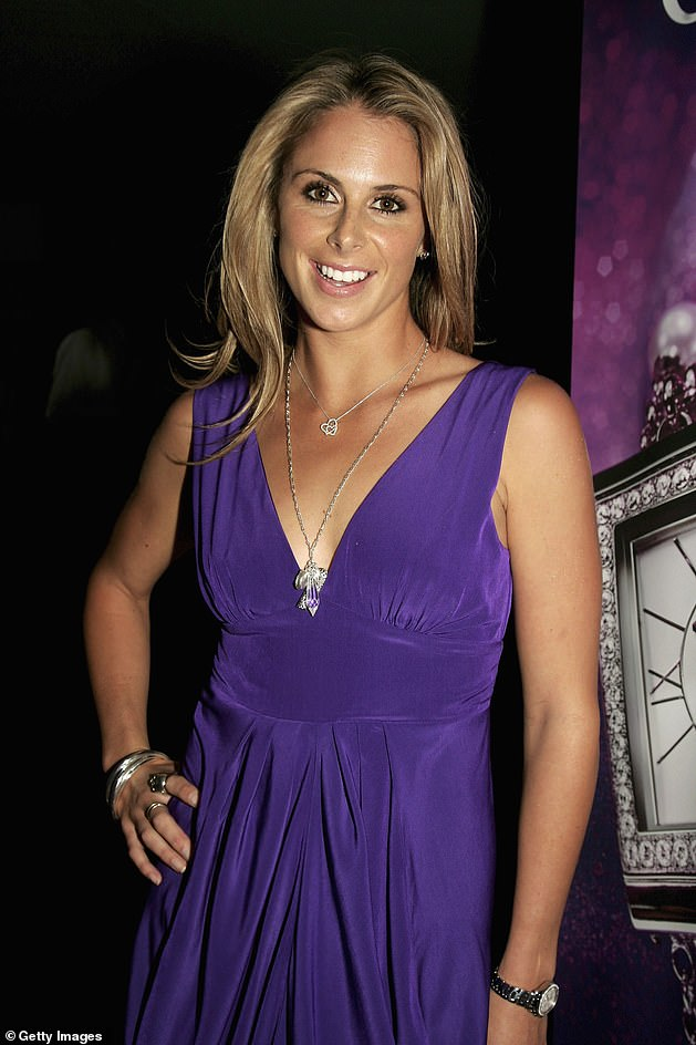 Looking back: The WAG admits she is 'not proud' of the 'toilet tryst' she shared with the rugby league footballer in 2007. Pictured: Candice in 2006