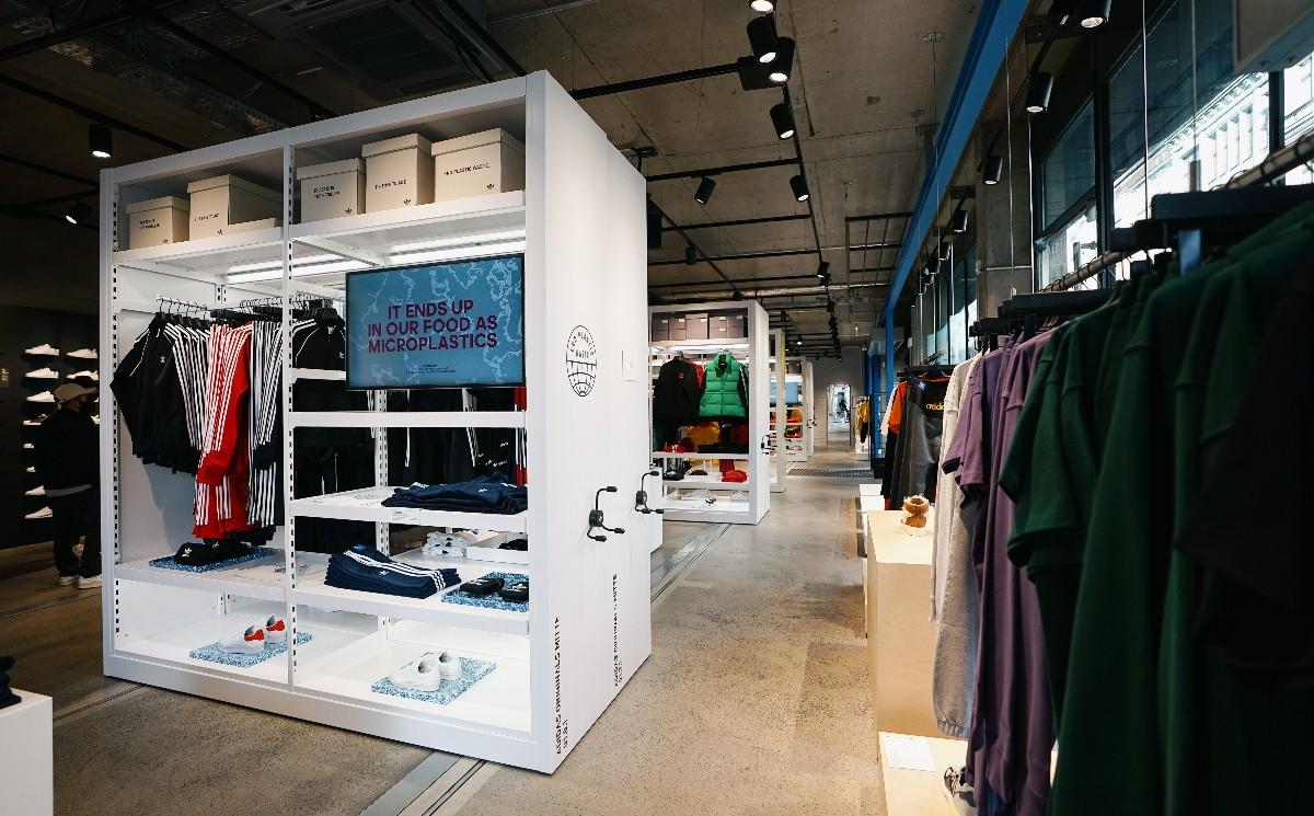Adidas opens doors of Berlin flagship