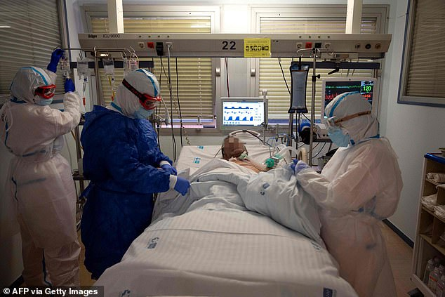 During the pandemic, demand for ICUs varies across a country, with some hospitals receiving substantial numbers of patients whilst others are unaffected