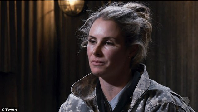 Questions: The wife of cricketer David Warner was pulled blindfolded into an interrogation where she was asked by ex-Special Forces soldiers Ant Middleton and Jason 'Foxy' Fox why she feels she is judged so harshly by the public
