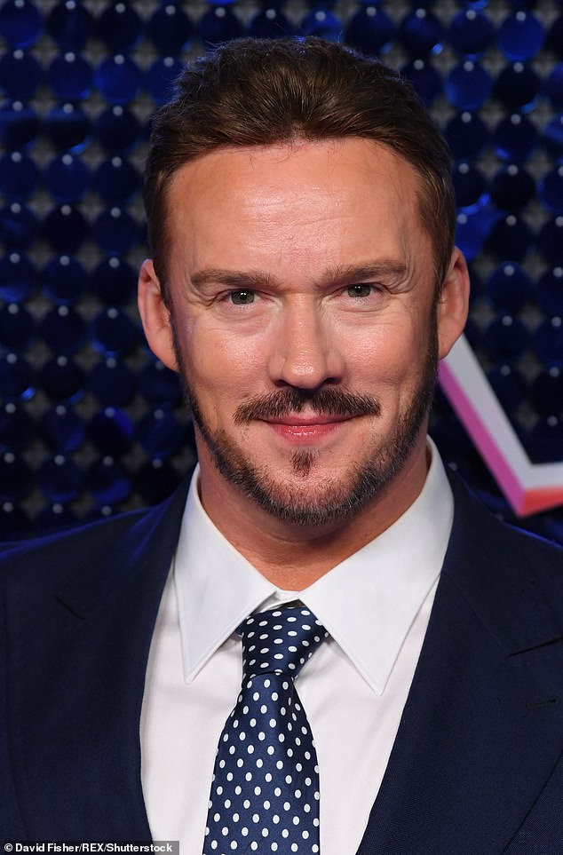 Rumoured contestant: Tenor Russell Watson was also spotted, sparking speculation that he's also on the star-studded lineup