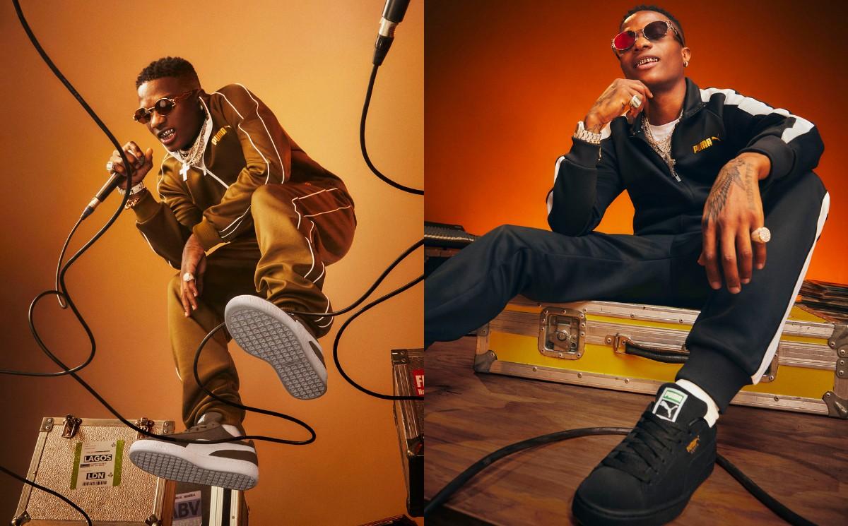Puma names Wizkid as an ambassador for new campaign