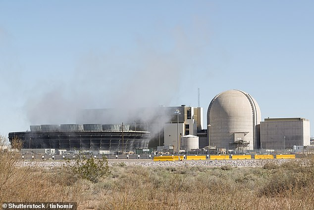 The system uses a specialized fuel designed with high-assay low-enriched uranium that the firm says is much more rugged than conventional nuclear fuels (pictured is a nuclear reactor is the US)  and can operate at high temperatures