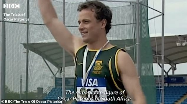 The trailer for the BBC series included a segment about Pistorius's athletic successes but did not mention Steenkamp by name