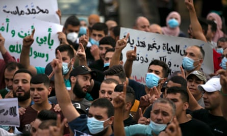 Protesters in Palestine