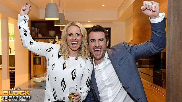 Reality bites: Darren and Deanne were popular contestants on Channel Nine's renovation series The Block, appearing twice in 2014 and 2015, and winning the latter season