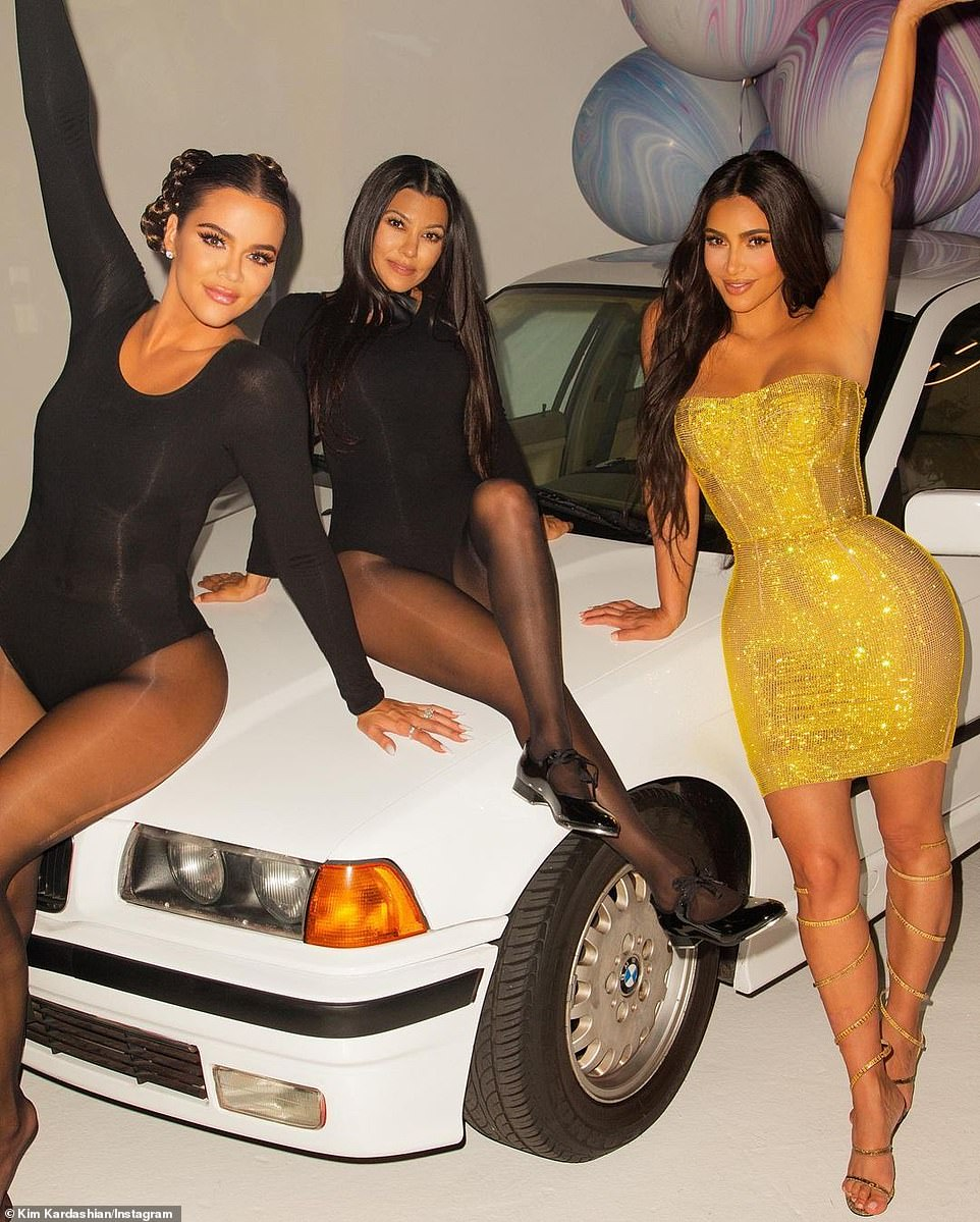 For the cameras:The star turned 40-years-old on October 22. She did not have a big party in Los Angeles, but rather had a small get together ahead of time with her family for an E! special about her life. Khloe, Kourtney, Kylie and Kendall were all there and even danced for her while in black outfits