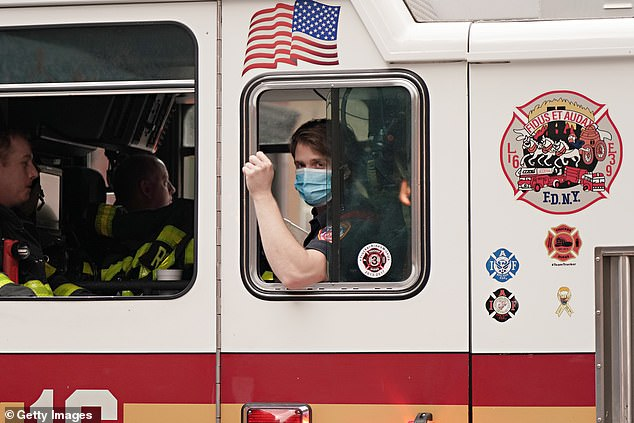 Firefighters have to be certified as EMTs, and between 60 and 70 percent of the calls they answer are for medical emergencies, not fires (file)