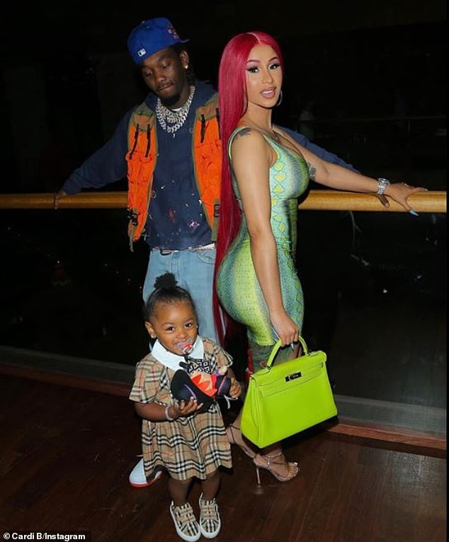 Family:Cardi and Offset, who wed in 2017, share two-year-old daughter named Kulture