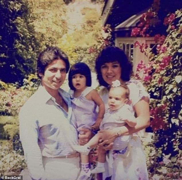 Former couple:Robert married Kris Jenner, now 64, in 1978 and during the span of their 13 year marriage, the former couple welcomed daughters Kourtney, 41, Kimberly, 40, Khloe, 36, and son Rob, 33; Robert, Kourtney, Kim, and Kris pictured