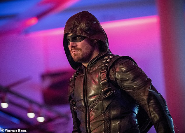 Professional:The actor said he has never thought he could die from the pandemic. 'I never worried about the lethal aspect' of the virus, he said. But his anxiety came from the idea that 'I would be letting hundreds of people down.' Seen on Arrow