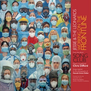 The cover for Working on the Frontline, from Chris Difford's album Song Club.