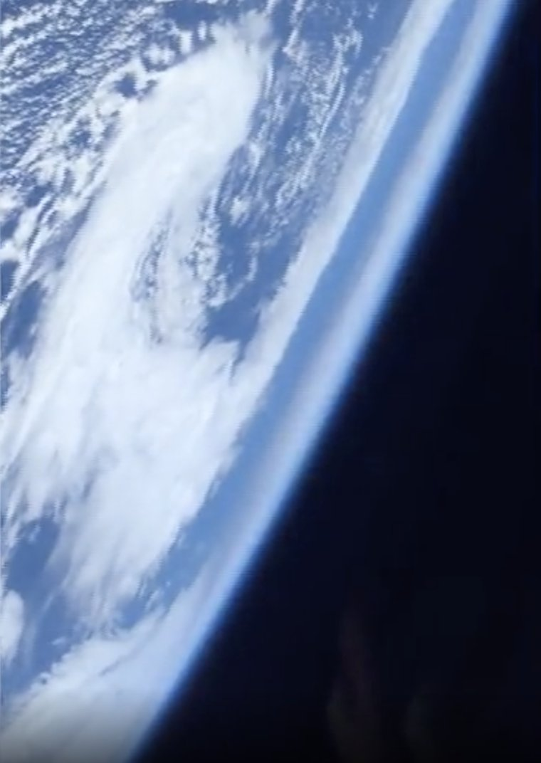 The Earth seen from space