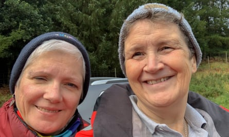 Jacky (left) died six days after testing positive for coronavirus. Her wife Jane (right) fears Christmas gatherings could lead to further deaths.