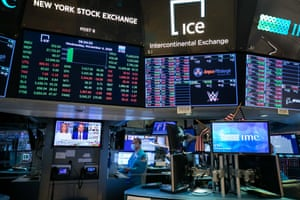 The New York Stock Exchange this week.